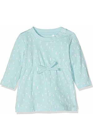 Name it Baby Girls' NBFDELUCIOUS LS Tunic NOOS Dress, Canal