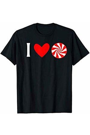 Buy Cool Shirts I Love Peppermint Hard Candy T-Shirt
