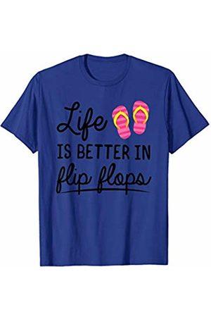 Merch Originals - Summer Life Is Better In Flip Flops T-Shirt