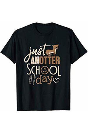 Otter Luv Teez Otter Lover Shirt Just AnOtter School Day Cute Animal Gift T-Shirt