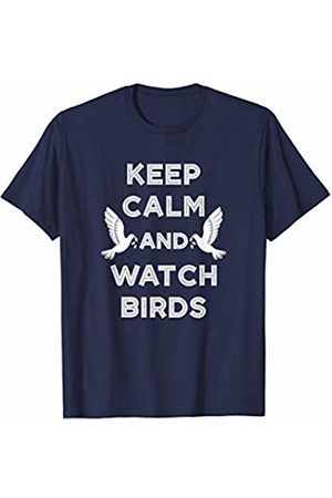 Birds IM Co Keep Calm and Watch Birds Gift Birding Bird Watching T-Shirt