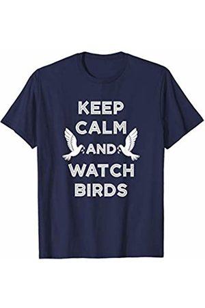 Birds IM Co Keep Calm and Watch Birds Gift Birding Bird Watching T-Shirt