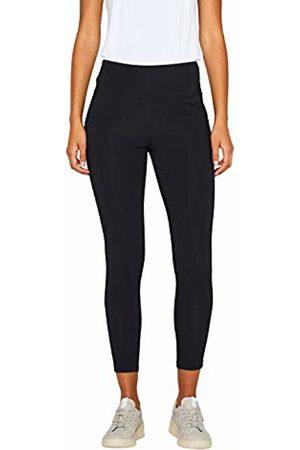 Esprit Sports Women's Tight Edry Sl Sports Trousers, ( 001)
