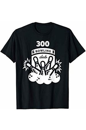 Dees Vintage Bowling Shirt Men Women Kids Sports 300 Bowling Club Retro Pin Ball Pattern Gift T-Shirt