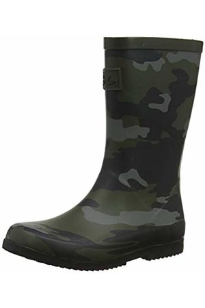 Joules Boys' Roll up Welly Wellington Boots