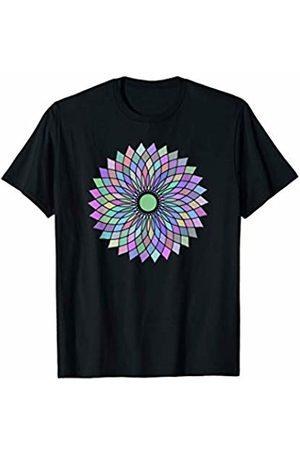 Mandala & Meditation Shirts Mandala Flower Meditation Spiritual Energy Yoga Teacher Gift T-Shirt