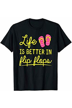 Merch Originals - Summer Life Is Better In Flip Flops T-Shirt