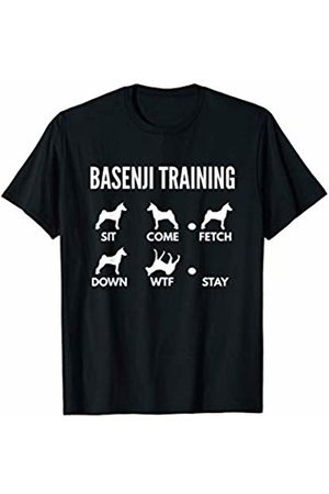 PedigreePrints Basenji Training - African Barkless Dog Tricks T-Shirt