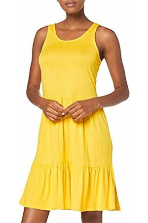 Only Women Dresses - Women's ONLNYLA S/L Dress JRS, Solar Power