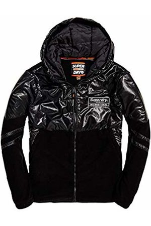 Superdry Men's Polar International Zip Hood Sports Hoodie, A