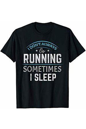 Running - By Tick Tock Running Keep Fit Gym Marathon Triathlon Exercise Jogging T-Shirt
