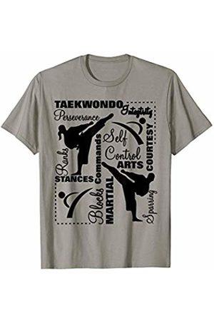 Hasharon Taekwondo Martial Arts Taekwondo Martial Arts Sport Themed Terminology T-Shirt