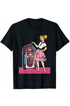 1950s Sock Hop Poodle Shirt Men Women Gift 1950's Sock Hop Theme Party 50's T Shirt Men Women Gift T-Shirt