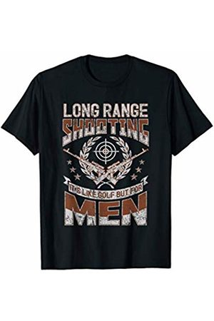 Second Amendment Freedom Rights Gun Company Long Range Shooting It's Like Golf But For Men T-Shirt
