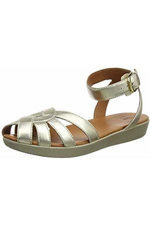FitFlop Women's Cova Weave Closed Toe Sandals