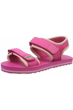Lacoste Unisex Kids' Sol 119 1 Cuc Open Toe Sandals, (Dk Lt Pnk 2j4)