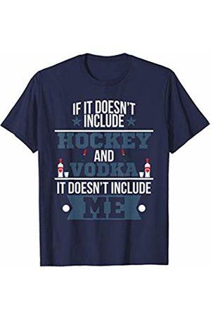Cool Vodka Tees Doesn't Involve Hockey & Vodka Sports Fan T-Shirt