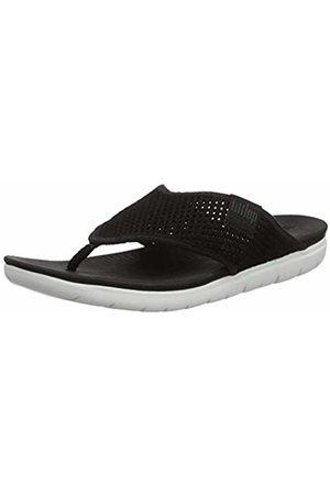 FitFlop Women's Airmesh Open Toe Sandals, 001