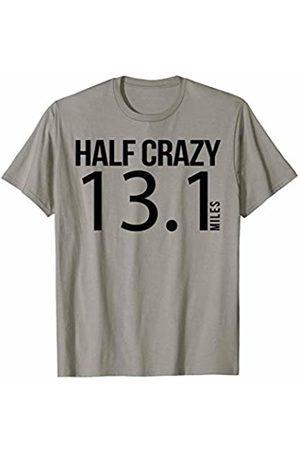JK Running Designs Half Crazy 13.1 Miles for Half Marathon Runner T-Shirt