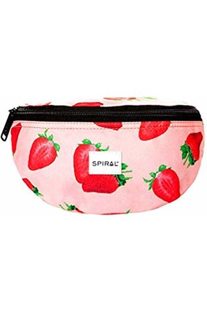 Spiral Strawberry Bum Bag Sport Waist Pack, 23 cm