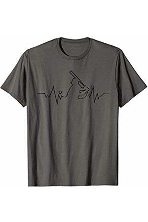 Baseball Heartbeat Tshirts Baseball Heartbeat Tshirt Cool Gift for Sport Lovers