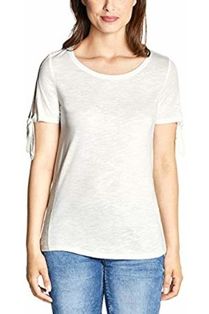 Cecil Women's 313756 T-Shirt, (Pure Off 10125)
