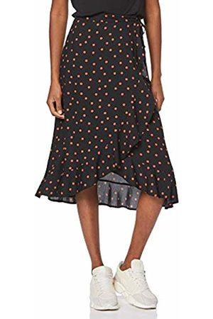 New Look Women's Carol Spot Ruffle Skirt, ( Pattern 9)