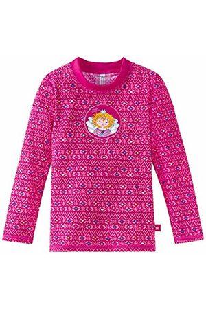 Schiesser Girl's Aqua Prinzessin Lillifee Bade-Shirt Cover - Up-Up