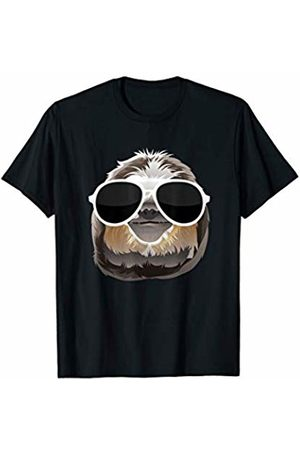 Sloth With Clout Glasses Funny Sloth Sloth With Clout Glasses Men Women Kids Funny Sloth T-Shirt