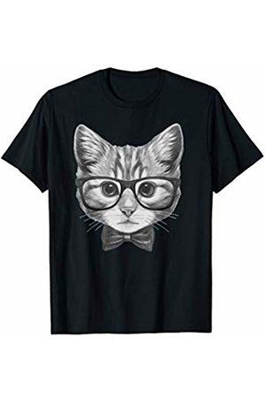 AWSM SHIRTS Cat Kitten Spectacles Eye Glasses Funny Cute T-Shirt T-Shirt