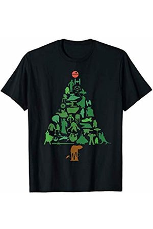 STAR WARS Holiday Christmas Tree T-Shirt