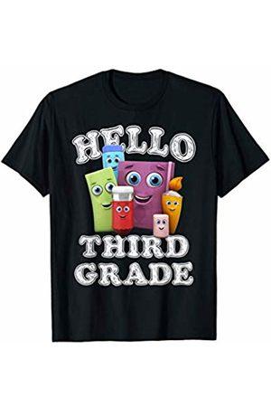 Back To School Shirts JG Back To School Shirt Hello 3rd Third grade T-Shirt
