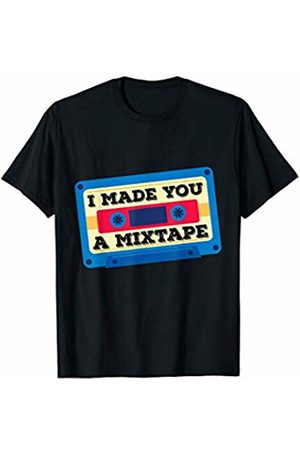 Cassette Costume 80s 90s Women T-shirts - Cassette Costume Retro 80s 90s I Made You A MixTape T-Shirt