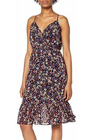 Vero Moda Women's Vmromily Blk Frill Singlet Dress VIP Ga