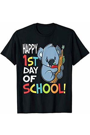 OKAI Tees First Day of School Shirts Happy 1st Day of School Shirt Back to School Koala T-Shirt
