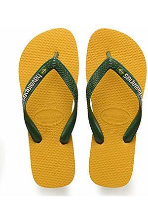 Havaianas Brasil Logo, Unisex Adult's Flip Flops, 6/7 UK