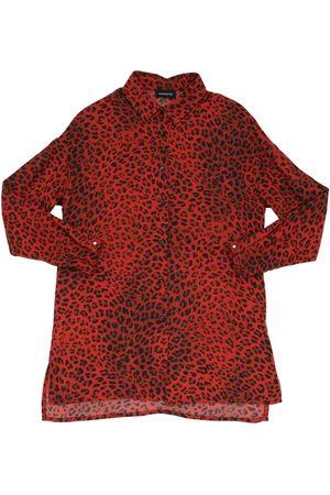 MONNALISA Leopard Print Viscose Shirt