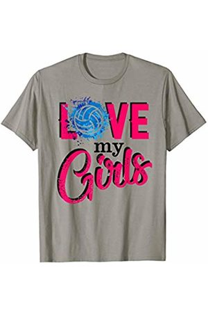 Hadley Designs Women T-shirts - Love My Girls mom volleyball for women mothers day Coach T-Shirt