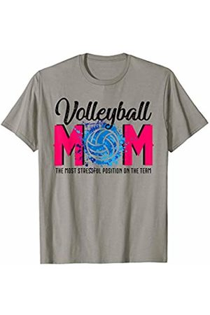 Hadley Designs Volleyball Mom the Most Stressful Position On The Team T-Shirt
