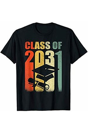 Funny School T Shirts For Kids T-shirts - Class Of 2031 Grow With Me Shirt Vintage First Day Of School T-Shirt
