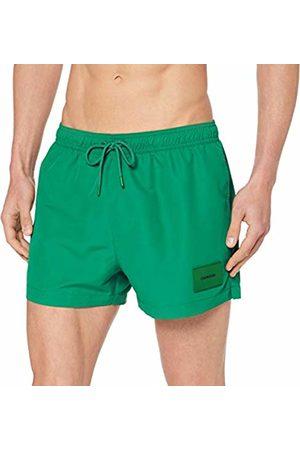Calvin Klein Men's Short Drawstring Swim Trunks