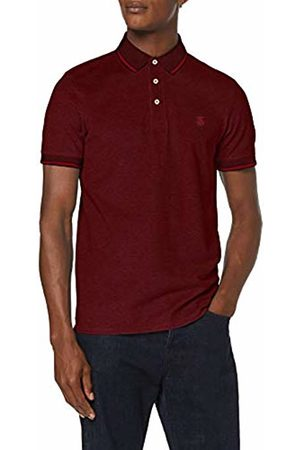 Selected Homme NOS Men Polo Shirts - Men's Slhtwist Ss Polo W Noos Shirt, ( Dahlia Detail: Twisted with )