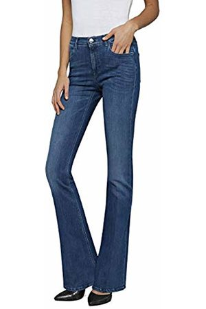 Replay Women's Stella Flare Skinny Jeans, (Medium 9)