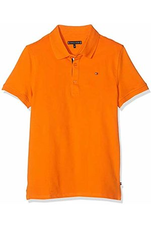 Tommy Hilfiger Boy's Essential Slim Polo S/s Shirt, (Russet 800)