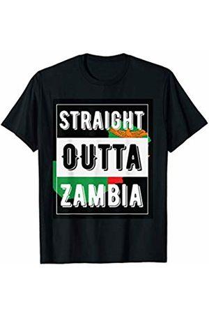 Zambia shirts Straight outta Zambia T-Shirt
