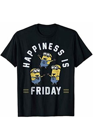 Minions Happiness Is Friday Minions Trio T-Shirt