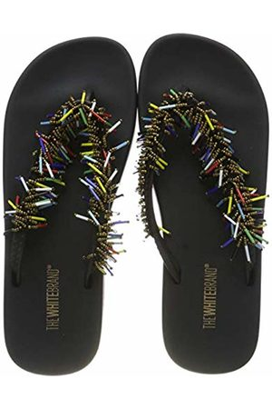 THE WHITE BRAND Women's Confeti Flip Flops, Multi
