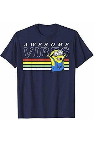 Minions Awesome Vibes Minions Stripes T-Shirt