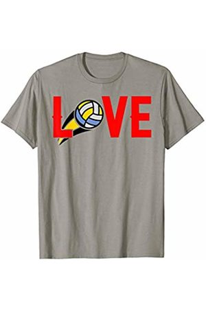 Hadley Designs Love mom girls volleyball for women mothers day Sports Gift T-Shirt