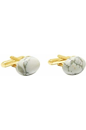 GemShine Men Gold Plated Cufflinks - 1466CBo
